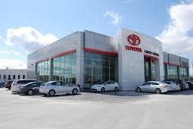 toyota dealership eastern and western building concepts converge at car dealership