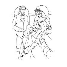 Coloriage Roi et Reine a Imprimer Gratuit