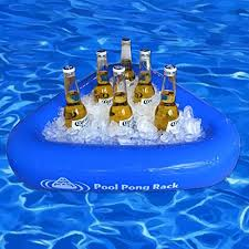 floating table for pool swimming pool inflatable beer pong game floating table