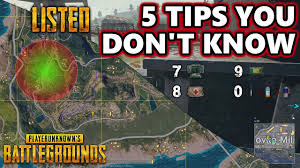 pubg tips 5 tips you don t know listed playerunknown s battlegrounds