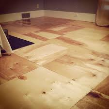 plywood tiles it comes in 4 8 sheets for about 40 so that s a