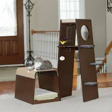 Cat Furniture by Pet Products Modular Modern Cat Tower 416819 Sauder