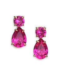 Antiqued Pink And Fuschia Beaded Fuschia Chandelier Earrings Chandelier Ideas