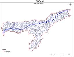 India River Map by North East India Rivers Profile Brahmaputra Basin Sandrp