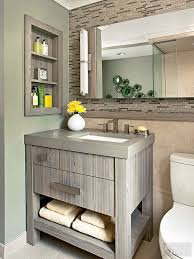 bathroom shelving ideas for small spaces small bathroom vanity ideas better homes gardens