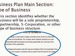 actual business plan example part 1 youtube
