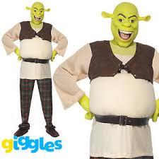 Halloween Costumes Mens Shrek Ogre Costume Halloween Book Week Fancy
