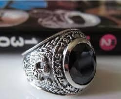 mens old rings images Zabra 925 silver blue zircon men ring vintage stone punk rock gold jpg