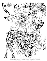 to print this free coloring page coloring difficult deer click