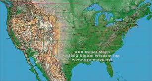us relief map maps usa map relief