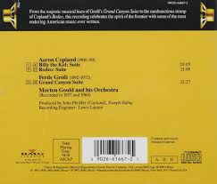 Hues Of Yellow Aaron Copland Ferde Grofe Morton Gould Morton Gould Orchestra