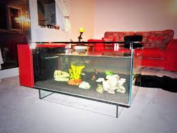 imposing fish tank coffee table with 24 fun unique fish tanks