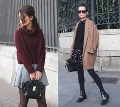 15 tips on how to combine tights with dresses and skirts