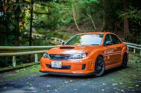 orange subaru impreza subaru impreza sti ts type ra walkaround youtube