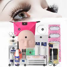 Makeup Remover For Eyelash Extensions Semi Permanent Eyelash Extensions Set Makeup Individual Curl Glue