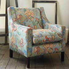 Roman Upholstery Poppinjay Linen Garden Party Ian Sanderson Upholstery And