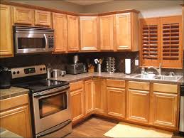 kitchen wall colors with cherry cabinets cool gas cooker stove