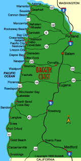 Map Of Oregon Coastline by Local Pictures