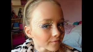 girly mermaid eyes make up tutorial design easy guide children s face painting tutorial