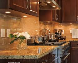 saddle cabinets with new venetian gold granite design kitchens
