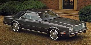 1980s dodge cars 1982 chrysler cordoba vintage detroit rubber and steel
