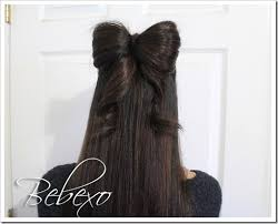 hairstyles for black tie how to tie your hair in a bow like a christmas present hair romance