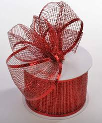 wired ribbon metallic mesh wired ribbon ribbon and trims craft supplies