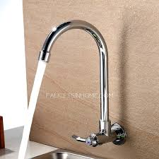 wall mount vessel sink faucets elements of design vintage wall mounted vessel sink faucet with wall