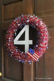 4th of july wreaths 18 easy 4th of july wreaths to make for your front door