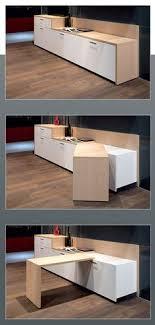 table escamotable dans meuble de cuisine la table de cuisine pliante 50 idées pour sauver d espace