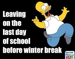 Winter Break Meme - leaving last day of school before winter break teacher humor