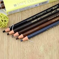 light grey eyebrow pencil 12 pcs lot 5 colors 1818 long lasting eyebrow pencil waterproof eye