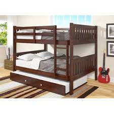 White Bunk Bed With Trundle Trundle Bunk U0026 Loft Beds You U0027ll Love Wayfair