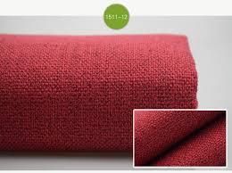 Curtain Upholstery Fabrics Thick Plain Linen Fabric Cloth Diy Craft Cushion Table Sofa Couch