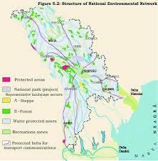 Moldova Map V Present Actions In Biodiversity Conservation