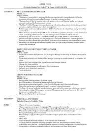 sle resume for client service associate ubs description meaning client portfolio manager resume sles velvet jobs