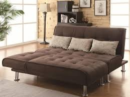 Sofa Bed With Chaise Lounge by Sofa 31 Wonderful Brown Futon Sofa Bed Leather Futon