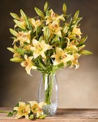 day lilies day silk flower stems for arranging at petals