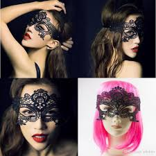 women crown design masquerade masks halloween party lace
