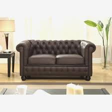 canapé 2 places marron chesterfield marron superbe canape 2 places marron canapa sofa divan