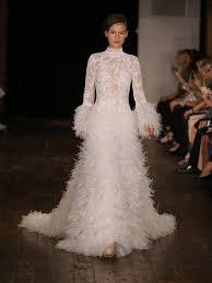 most daring wedding dresses from bridal fashion week watch