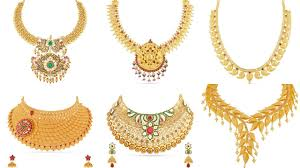gold necklace designs with weight and price