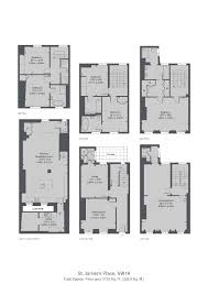 Floor Plan Of Westminster Abbey 5 Bed Terraced House For Sale In St James U0027s Place London Sw1a