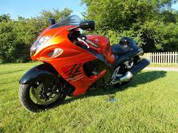 2008 suzuki gsx1300r hayabusa k8 metallic orange 1 owner
