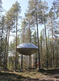famous tree houses ufo inspired tree house