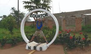 Map Equator South America by The Equator Nomad Africa Adventure Tours