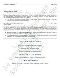 Substitute Teacher Resume Job Description Substitute Teacher Resume Substitute Teacher Resume Samples