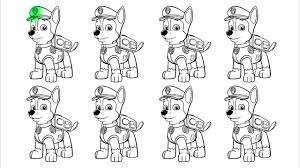 learn colors with paw patrol coloring pages video learning for