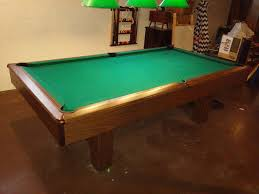 Used Pool Table by Used 8 U0027 Kasson Pool Table For Sale