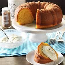 eggnog pound cake recipe taste of home